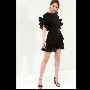 Storets Jenny wrap mini dress